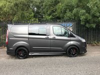 2016 FORD TRANSIT CUSTOM 2.2 290 LIMITED FACTORY DOUBLE CAB 6D 155 BHP NEW RS STYLING KIT SAT NAV £20500.00