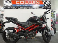USED 2018 18 BENELLI BN 125cc ONE OWNER FROM NEW!!!