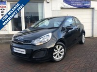 USED 2014 14 KIA RIO 1.2 VR7 3d 84 BHP ONE OWNER FROM NEW - LOVELY CONDITION