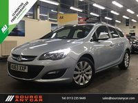 USED 2014 63 VAUXHALL ASTRA 1.7 TECH LINE CDTI ECOFLEX S/S 5d 108 BHP + NEW CAMBELT FITTED / 12 MONTHS MOT / 15 MONTHS WARRANTY +