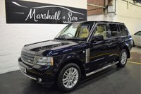 USED 2009 59 LAND ROVER RANGE ROVER 3.6 TDV8 VOGUE 5d AUTO 271 BHP LOVELY COLOUR COMBO - LR S/H TO 97K MILES - NAV - TV - DUAL VIEW - SIDE STEPS