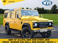 USED 2009 LAND ROVER DEFENDER 110 LWB Defender 110 2.4 LWB Diesel A well maintained (8 services) 2009 Land Rover Defender 110 2.2tdci with just 41000 miles, prices at £21999 with NO VAT, and includes an independent AA inspection report.