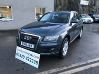 USED 2010 10 AUDI Q5 2.0 TDI QUATTRO SE 5d AUTO 168 BHP OVER 9K OF EXTRAS ** 1 OWNER FROM NEW ** FSH **