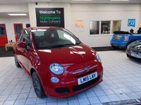 2015 FIAT 500 1.2 S 3d 69 BHP £6350.00