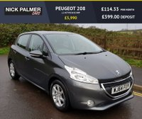 USED 2014 64 PEUGEOT 208 1.2 ACTIVE 5d 82 BHP ONLY £20 ROAD TAX