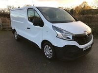 2015 RENAULT TRAFIC 1.6 SL27 BUSINESS ENERGY DCI S/R P/V 1d 120 BHP £6990.00