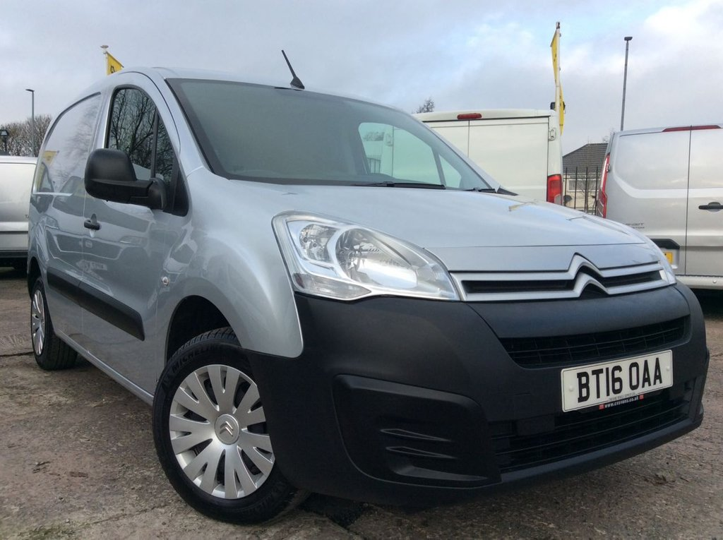 USED 2016 16 CITROEN BERLINGO 1.6 625 ENTERPRISE L1 HDI  74 BHP 1 OWNER FSH NEW MOT FREE 6 MONTH AA WARRANTY INCLUDING RECOVERY AND ASSIST AIR CONDITIONING SATELLITE NAVIGATION ELECTRIC WINDOWS AND MIRRORS CRUISE CONTROL REAR PARKING SENSORS EURO 5