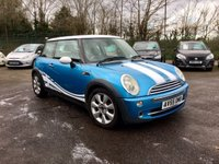 2005 MINI HATCH COOPER 1.6 COOPER 3d PART EXCHANGE TO CLEAR WITH HISTORY £2750.00