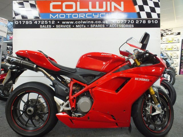 View our DUCATI 1098