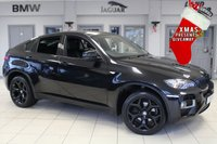 USED 2014 14 BMW X6 3.0 XDRIVE30D 4d AUTO 241 BHP FULL BLACK LEATHER SEATS + PRO SATELLITE NAVIGATION + ELECTRIC TAILGATE + BLUETOOTH + 20 INCH ALLOYS + HEATED FRONT SEATS + XENON HEADLIGHTS + DAB RADIO + CRUISE CONTROL + PARKING SENSORS