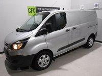 USED 2014 64 FORD TRANSIT CUSTOM 2.2 330 LR P/V 1d 124 BHP REAT VAN  WITH ONE OWNER AND FULL DEALER HISTORY FINISHED IN BRIGHT SILVER WITH IMMACULATE BODY WORK AND UNMARKED INTERIOR,  ELEC WINDOWS, REMOTE CENTRAL LOCKING, RADIO CD USB POINT,  FRONT AND REAR PARKING SENSORS, CARGO LINED, BULK HEAD, BLUETOOTH PHONE PREP JUST SERVICED READY FOR WORK.
