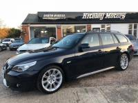 USED 2007 07 BMW 5 SERIES 3.0 530i M Sport Touring 5dr LEATHER PRO NAV BLUETOOTH