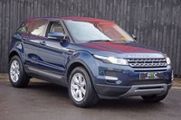 USED 2012 LAND ROVER RANGE ROVER EVOQUE 2.2 ED4 PURE TECH 5d 150 BHP Land Rover Service History