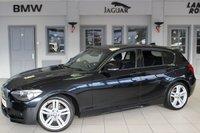USED 2013 13 BMW 1 SERIES 2.0 118D M SPORT 5d AUTO 141 BHP full service history FULL SERVICE HISTORY + BLUETOOTH + DAB RADIO + £30 ROAD TAX + REAR PARKING SENSORS + CRUISE CONTROL + 18 INCH ALLOYS