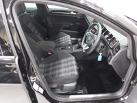 """USED 2015 15 VOLKSWAGEN GOLF 2.0 GTD 5d 181 BHP FANTASTIC SPORTS CAR THEY ARE FAST AND ECONOMIC, ONE OWNER FULL SERVICE HISTORY, GLEAMING BLACK PAINTWORK, 18"""" ALLOY WHEELS, PARKING SENSORS,. LEATHER CLAD FLAT BOTTOM STEERING WHEEL, , START-STOP, CARBON FIBRE INSERTS, CRUISE CONTROL, COLLISION CONTROL, TRACTION CONTROL, VW MEDIA WITH AUX AND USB POINT,  DUAL CLIMATE CONTROL, ELEC HEATED FOLDING MIRRORS, BLUETOOTH - PHONE PREP CLIMATE CONTROL, AND MUCH MUCH MORE"""