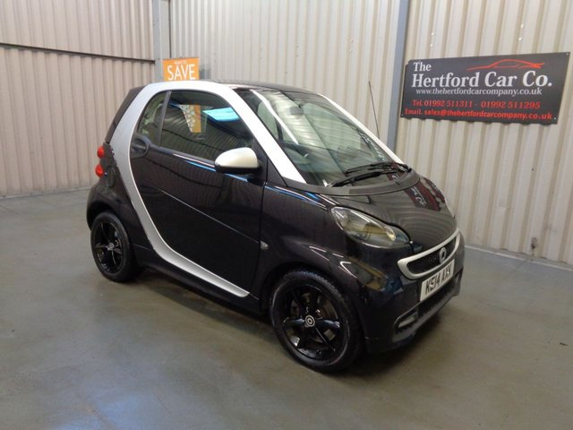 2018 14 SMART FORTWO 1.0 Grandstyle Plus Softouch 2dr