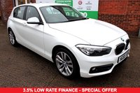 USED 2015 65 BMW 1 SERIES 1.5 116D SPORT 5d 114 BHP +ONE OWNER +SERVICED +LOW TAX.