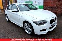 USED 2014 64 BMW 1 SERIES 1.6 116I M SPORT 5d 135 BHP +M SPORT +1 OWNER +SERVICED.