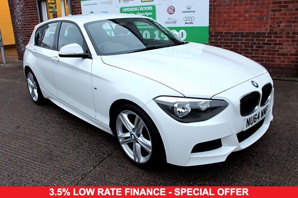 2014 64 BMW 1 SERIES 1.6 116I M SPORT 5d 135 BHP