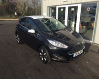 USED 2016 16 FORD FIESTA 1.0 ZETEC BLACK EDITION AUTUMN ECOBOOST (100ps) THIS VEHICLE IS AT SITE 1 - TO VIEW CALL US ON 01903 892224