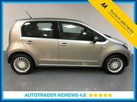 USED 2015 15 VOLKSWAGEN UP 1.0 HIGH UP 5d 74 BHP FULL SERVICE HISTORY - 1 OWNER - SAT NAV - SUNROOF - AIR CON - DAB RADIO - HEATED FRONT SEATS