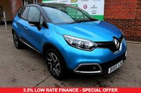 USED 2015 65 RENAULT CAPTUR 1.5 DYNAMIQUE S NAV DCI 5d 90 BHP +ONE OWNER +FSH +FREE TAX.