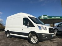 USED 2015 65 FORD TRANSIT 2.2 350 H/R P/V 1d 125 BHP One Owner, 125 BHP, Long Wheel Base, High Roof.
