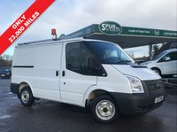 USED 2013 13 FORD TRANSIT 2.2 300 LR 1d 99 BHP Direct BT, Two Side Loading Doors, Only 23,000 Miles, Full Roof Rack, Rear Internal Racking.