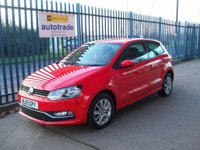 USED 2015 15 VOLKSWAGEN POLO 1.2 TSI BlueMotion Tech SE (s/s) 3dr Ideal 1st Car