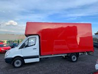 USED 2012 12 MERCEDES-BENZ SPRINTER 2.1 313 CDI LWB LUTON BOX  RARE 15FT BOX, ONE OWNER, ONLY 87K MILES, CRUISE,