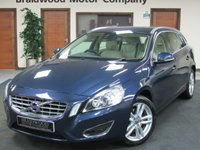 USED 2012 VOLVO V60 2.0 D4 SE LUX 5d 161 BHP