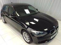 2014 BMW 1 SERIES 1.6 116D EFFICIENTDYNAMICS 5d 114 BHP £10000.00