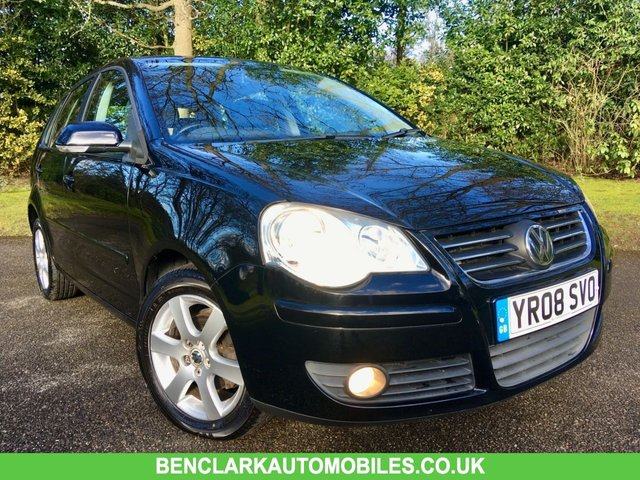 2008 08 VOLKSWAGEN POLO 1.2 MATCH 5d 59 BHP AIRCON ONLY 34,900 MILES//FULL VW/SPECIALIST SERVICE HISTORY