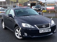 USED 2009 09 LEXUS IS 2.2 220D SE 4d 175 BHP *SERVICE HISTORY, EXCELLENT CONDITION*