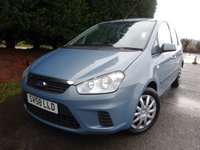 2008 FORD C-MAX 1.6 STYLE 5d 100 BHP £3595.00