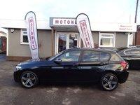 2012 BMW 1 SERIES 2.0 116D SPORT 5DR AUTOMATIC DIESEL 114 BHP+++ £30 ROAD TAX+++ £8660.00