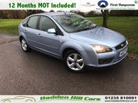 USED 2007 07 FORD FOCUS 1.6 ZETEC 5d AUTO 100 BHP Will Be supplied With 12 Months MOT!