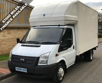 USED 2013 13 FORD TRANSIT 350 LUTON 2.2 RWD EF LWB 125 BHP 6 SPEED 1 Owner, Full Service History