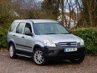 2005 HONDA CR-V 2.0 I-VTEC SE 5d 148 BHP £2970.00