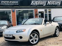 USED 2008 58 MAZDA MX-5  1.8 Roadster 2dr HEATED LEATHER & CLIMATE