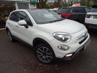 USED 2016 66 FIAT 500X 1.4 MULTIAIR CROSS PLUS 5d AUTOMATIC 4x4 170 BHP FOUR WHEEL DRIVE Over £2,000 worth of optional extras! Very Low Mileage! Less than 10,000 miles covered! One Owner, Serviced by ourselves, MOT and balance of Fiat Warranty until November 2019, Automatic, 4x4