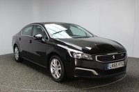 USED 2015 65 PEUGEOT 508 1.6 BLUE HDI S/S ACTIVE 4DR AUTOMATIC SAT NAV 1 OWNER FULL SERVICE HISTORY FULL SERVICE HISTORY + £20 12 MONTHS ROAD TAX + 0% FINANCE AVAILABLE T&C'S APPLY + SATELLITE NAVIGATION + PARKING SENSOR + BLUETOOTH + CRUISE CONTROL + CLIMATE CONTROL + MULTI FUNCTION WHEEL + 17 INCH ALLOY WHEELS