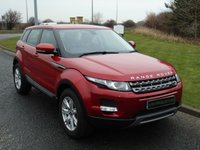 2013 LAND ROVER RANGE ROVER EVOQUE 2.2 SD4 PURE TECH 5d AUTO 190 BHP £18990.00