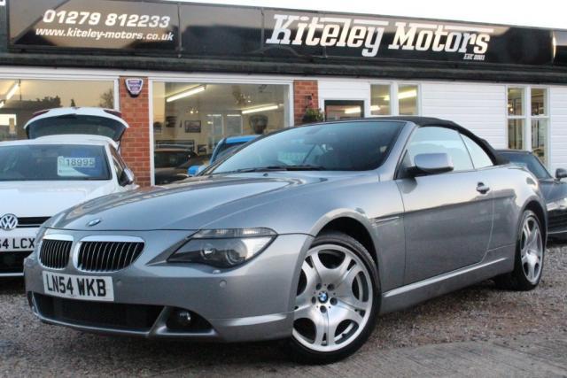 2004 54 BMW 6 SERIES 4.4 645Ci 2dr
