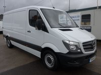USED 2014 14 MERCEDES-BENZ SPRINTER 313 CDI MWB LOW ROOF, 130 BHP [EURO 5]