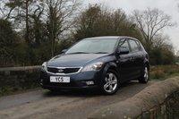 2011 KIA CEED 1.6 CRDI 2 ECODYNAMICS 5d 89 BHP £3599.00