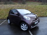 USED 2009 09 TOYOTA IQ 1.0 VVT-I IQ2 3d 68 BHP LOW MILES, SERVICE HISTORY, £0 ROAD TAX