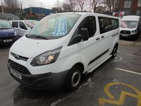 USED 2017 17 FORD TRANSIT MINIBUS 2.0 TDCI 310 LONG WHEEL BASE, NINE SEAT MINIBUS, AIR CON, ONLY 40,000 MILES WITH FULL SERVICE HISTORY, MAIN DEALER WARRANTY TILL 2020  WWW.PREMIERVANSALES.CO.UK 0161 429 8644