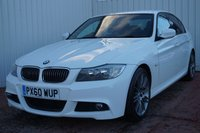 USED 2010 60 BMW 3 SERIES 2.0 318I M SPORT PLUS EDITION 4d 141 BHP DEALER FULL SERVICE HISTORY