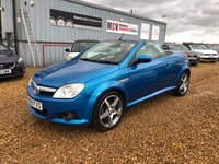 USED 2009 09 VAUXHALL TIGRA 1.4 EXCLUSIV 16V RED 2d 90 BHP